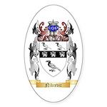 Nikcevic Sticker (Oval 10 pk)