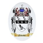 Nikcevic Oval Ornament