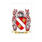 Nijssen Sticker (Rectangle 10 pk)