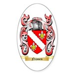 Nijssen Sticker (Oval 10 pk)