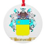 Nigro Round Ornament