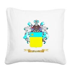 Nigrelli Square Canvas Pillow