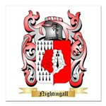 Nightingall Square Car Magnet 3