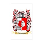 Nightingall Sticker (Rectangle 50 pk)