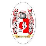 Nightingall Sticker (Oval)