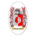 Nightingall Sticker (Oval 10 pk)