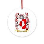 Nightingall Round Ornament