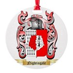 Nightingale Round Ornament