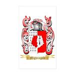 Nightingale Sticker (Rectangle 10 pk)