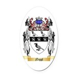 Niggl Oval Car Magnet