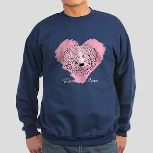 KiniArt Doodle Mom Sweatshirt (dark)
