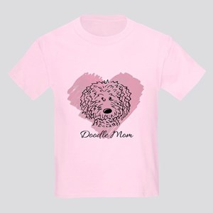 KiniArt Doodle Mom Kids Light T-Shirt