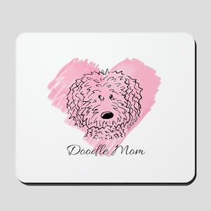 KiniArt Doodle Mom Mousepad