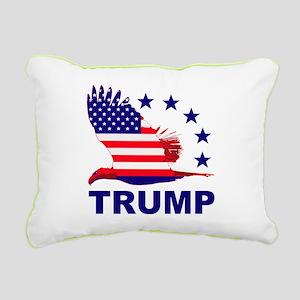 Trump For America Rectangular Canvas Pillow