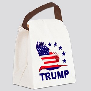Trump For America Canvas Lunch Bag