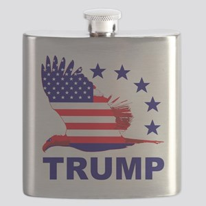 Trump For America Flask