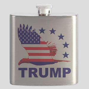 Trump For America Flask