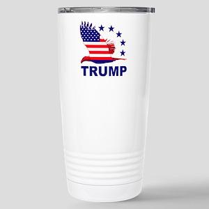 Trump For America Stainless Steel Travel Mug