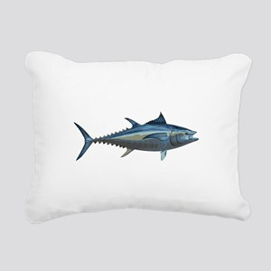 Bluefin Tuna Rectangular Canvas Pillow