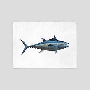 Bluefin Tuna 5'x7'Area Rug