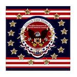 President Trump Tile Coaster