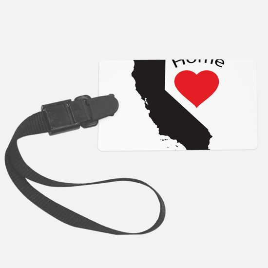 California Home Luggage Tag