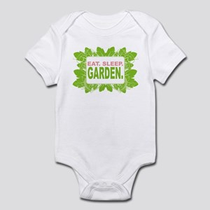 Eat. Sleep. Garden. Infant Bodysuit