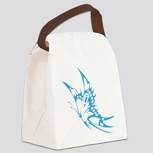 Butterfly faded hand painted Canvas Lunch Bag
