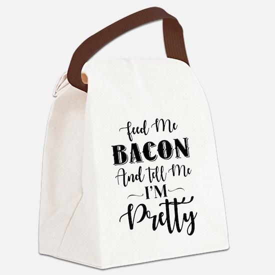 Unique Bacon Canvas Lunch Bag