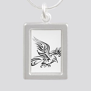 Crow Tribal Painting Faded Necklaces
