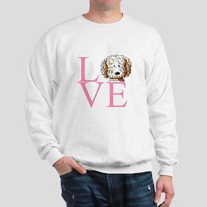 KiniArt Doodle Love Sweatshirt