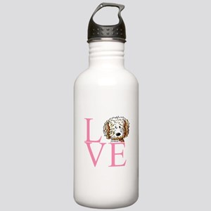 KiniArt Doodle Love Stainless Water Bottle 1.0L