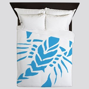 Tribal scorpion tattoo Queen Duvet