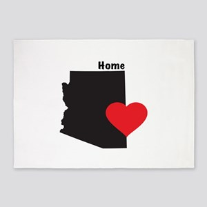 Arizona is Home 5'x7'Area Rug