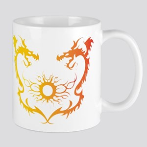 Twin dragons soul battle Mugs