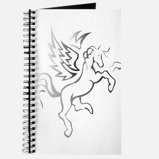 winged horse pegasus Journal