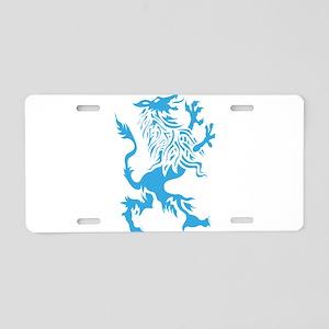 Werewolf spirit drawing Aluminum License Plate