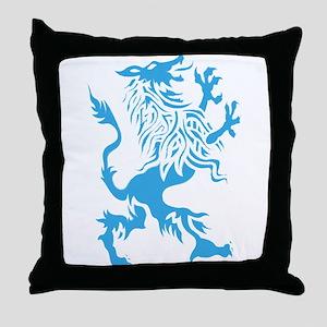 Werewolf spirit drawing Throw Pillow