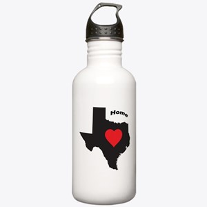 Texas is home Water Bottle