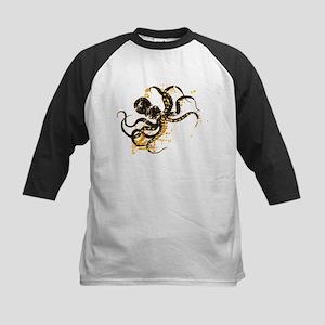 Octopus ink splatter Baseball Jersey