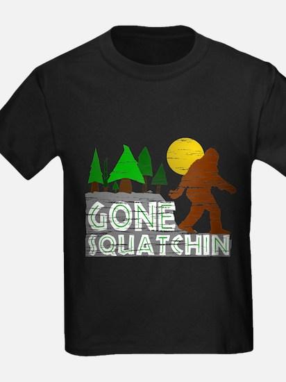 Funny Gone squatchin T
