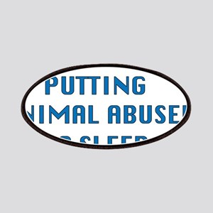 I support animal abusers to sleep Patch