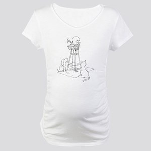 Baby and Pets Maternity T-Shirt