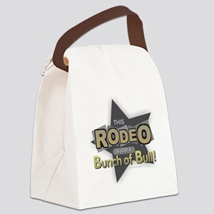 Rodeo - Bull Canvas Lunch Bag
