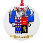 Nieves Round Ornament