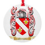 Niesgen Round Ornament