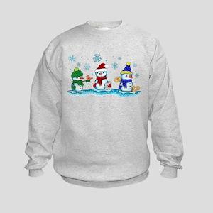 Snowman Friends Sweatshirt