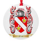 Nies Round Ornament