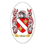 Nies Sticker (Oval 10 pk)