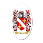 Nies 35x21 Oval Wall Decal